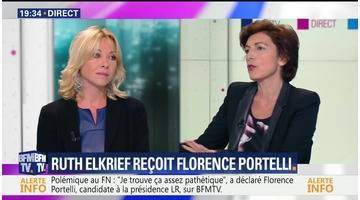 """""""Je n'ai pas besoin d'être sponsorisée par un ténor"""", Florence Portelli"""