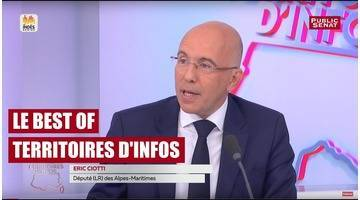 Invité : Éric Ciotti - Territoires d'Infos - Le Best-Of (19/09/2017)