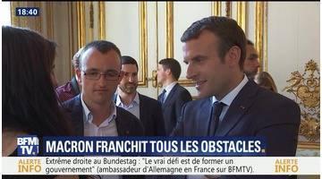Emmanuel Macron franchit tous les obstacles