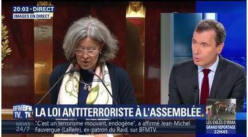 La loi antiterroriste débattue en séance publique à l'Assemblée nationale