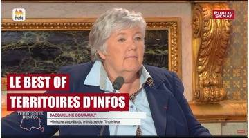 Invitée : Jacqueline Gourault - Best of Territoires d'infos (25/09/2017)