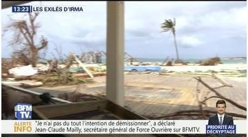 Les exilés d'Irma