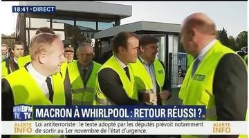 Emmanuel Macron à Whirlpool: un retour réussi ?