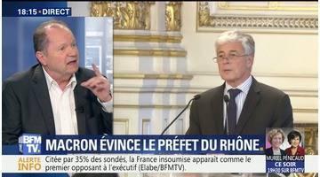 Attaque de Marseille: Emmanuel Macron évince le préfet du Rhône