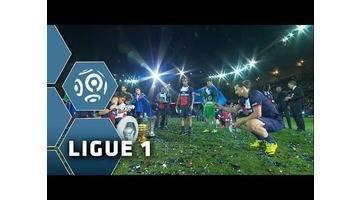 PSG Champion 2014 - la fête au Parc des Princes - Ligue 1 - 2013/2014