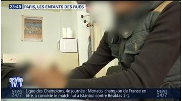 Paris: les enfants des rues