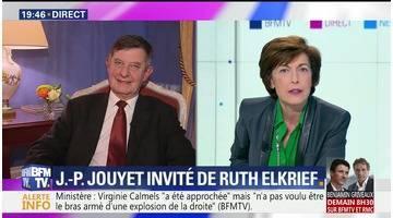 Ruth Elkrief reçoit Jean-Pierre Jouyet