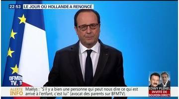 Le jour où Hollande a renoncé