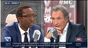 Hervé Berville face à Jean-Jacques Bourdin en direct