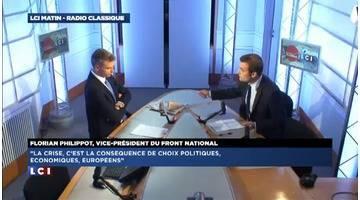 L'invité politique de Guillaume Durand : Florian Philippot