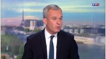 François de Rugy, président de l'Assemblée, est l'invité du 20h