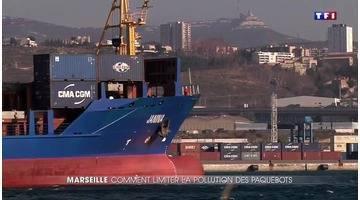 Marseille : la pollution des paquebots agace les riverains