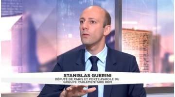 L'invité politique de 8h15 du 4 août : Stanislas Guerini, député de la 3e circonscription de Paris (LREM)