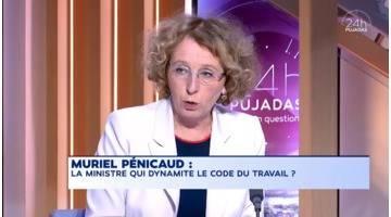 Replay du 13 septembre 2017 : 24h Pujadas l'info en questions - M. Pénicaud, la ministre qui dynamite le code du travail ?
