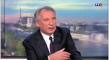 François Bayrou est l'invité du JT de 20H