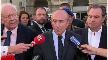 Attaque au couteau à Marseille : Les précisions de Gérard Collomb
