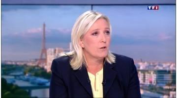 L'intégrale de l'interview de Marine Le Pen au 20h