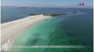 Zoom sur Les Glenan et ses eaux paradisiaques