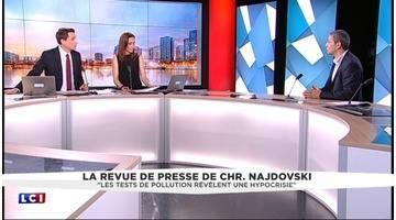 Christophe Najdovski, maire-adjoint de Paris en charge des transports, fait sa revue de presse
