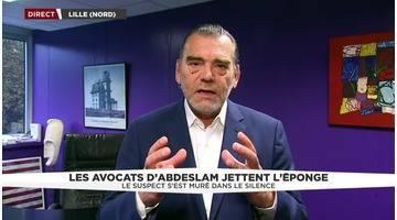 Interview de Frank Berton, ancien avocat de Salah Abdeslam