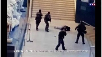Terrorisme : un militaire agressé au Louvre