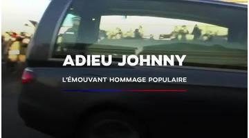 Adieu Johnny Hallyday : l'émouvant hommage populaire en 5 minutes