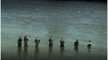 Elles pêchent l'alose sur la rivière des Prairies