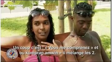 Parler français, parler créole , à La Réunion