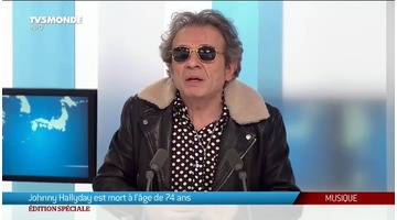 Philippe Manoeuvre parle de Johnny Hallyday