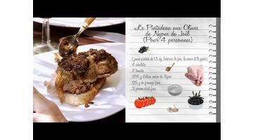 Recette : La pintades aux olives de Joël - Les carnets de Julie - Les volailles à la carte