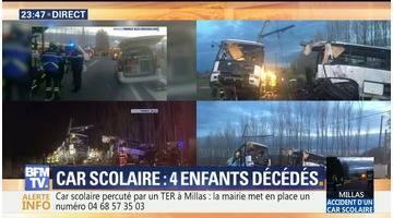 Collision mortelle entre un bus scolaire et un TER à Millas (5/5)