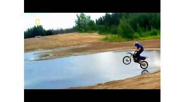 Science of stupid - Comment conduire une moto sur l'eau ?