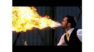 Science of stupid - Comment cracher du feu en toute sécurité ?