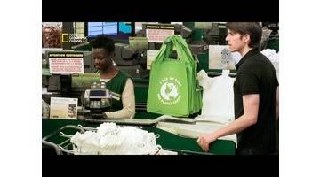 Une personne utilise 500 sacs plastiques par an