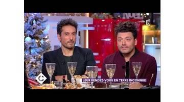 Vincent Elbaz et Kev Adams au dîner - C à Vous - 14/12/2017