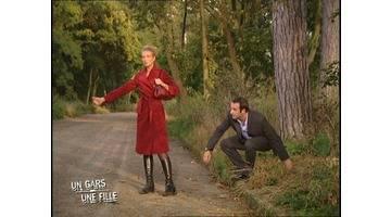 Un gars une fille - auto-stop