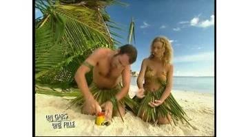 Un gars une fille - Les Seychelles - Ste Anne - les naufragés 02 /02