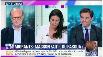 Migrants: Macron fait-il du Pasqua ?