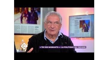 """""""Tri des migrants"""" : la politique qui indigne - C à Vous - 19/12/2017"""