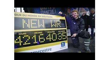 François Gabart, l'homme le plus rapide du monde - C à Vous - 20/12/2017
