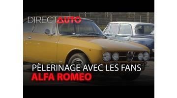 ALFA ROMEO : en pèlerinage avec les fans !