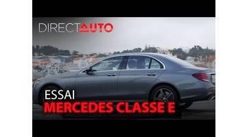 Essai - MERCEDES CLASSE E
