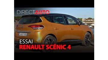 Essai - RENAULT SCÉNIC 4
