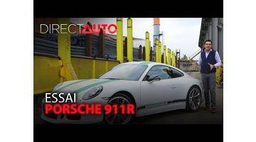 Essai - Porsche 911 R