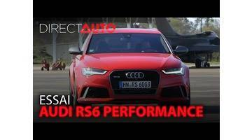 Essai - AUDI RS6 PERFORMANCE : Mission 300km/h