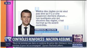 Contrôles renforcés des chômeurs: Emmanuel Macron assume