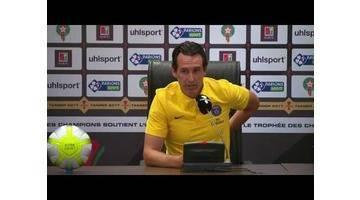 Conference de Presse PSG - Trophée des champions