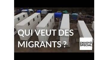 Envoyé spécial - Qui veut gagner des migrants ? - 12 janvier 2017 (France 2)