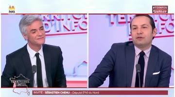 Invité : Sébastien Chenu - Territoires d'infos (19/01/2018)