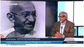 Arun Gandhi: la non-violence en héritage...